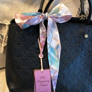Ted Baker Sea Of Clouds Mini Scarf - New